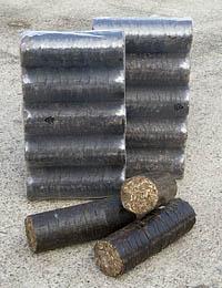 swf bark briquette logs